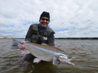 Rio Grande Fly fishing in Argentina, Tierra del fuego
