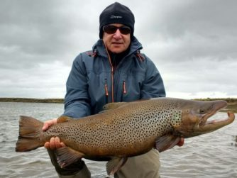 Rio Grande Fly fishing in Argentina